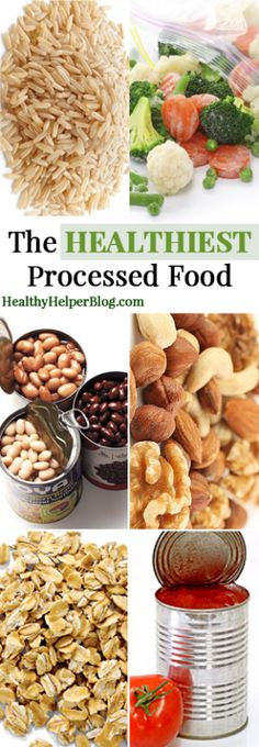 The Healthiest Processed Foods...not all processed foods are created equal! Find out which ones you SHOULD be adding to your grocery cart! • Healthy Helper [food, grocery shopping, health, nutrition, wellness, tips, healthy living, healthy eating, healthy food, diet, healthy, eating, clean eating]