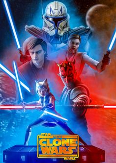 Star Wars the Clone Wars Season 7 Poster Remake, Captain Kraul