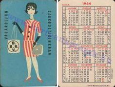 1964 - 1964_0082 - Régi magyar kártyanaptárak