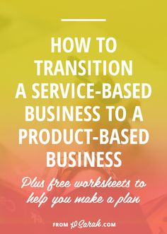 If you're ready to move away from working one-on-one with clients and are hoping to create products so you can help lots of people at once, this post is for you! Here's how to make the transition from a service-based business to a product-based business. Small Business Quotes, Business Tips, Online Business, Business Planning, Entrepreneur Quotes, Business Entrepreneur, Small Business Organization, Tips Online, It Goes On