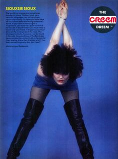Siouxsie Sioux.on The hottest horniest female singers and musicians collection of The Grey King