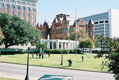 dallas tx, grassy knoll/ dealy plaza- Where President Kennedy was shot. Yep, been there.