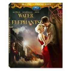 Water for Elephants. Robert Pattinson, Reese Witherspoon.    4/5 Stars