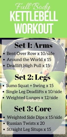 This Full Body Kettlebell Workout is the ultimate at home workout. Simple, low impact moves that give you amazing results. A single kettlebell is all you need for total body toning and fat burning in this workout.
