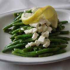 Snow on the Mountain Green Beans - Allrecipes.com
