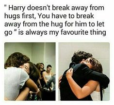 We would problably hug each other forever cause I will not. Break. That. Hug.