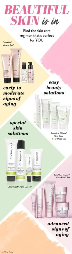 Healthy-looking, luminous skin is the ultimate summer accessory. Click to discover easy beauty solutions that fight signs of aging, acne and more. | Mary Kay