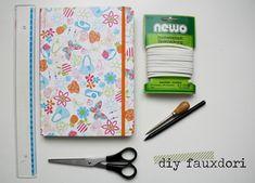 [DIY] Wie aus einem Notizbuch ein Fauxdori wird