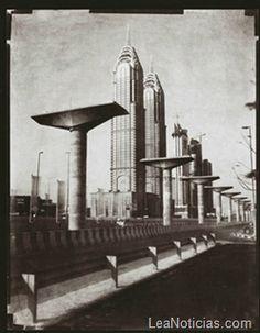 El Dubai del año 2000 como película de ciencia ficción de 1930 (Fotos) - http://www.leanoticias.com/2012/01/10/el-dubai-del-ao-2000-como-pelcula-de-ciencia-ficcin-de-1930-fotos/