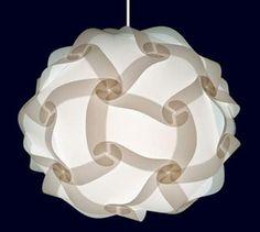 Creaciones manuales: Lámpara de acetato casera