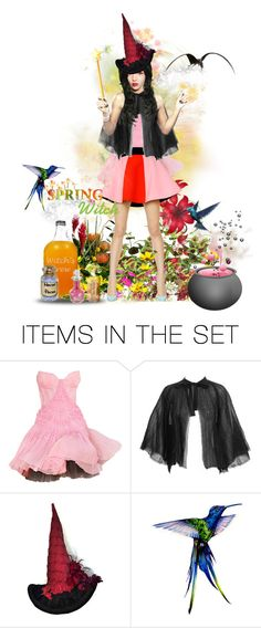 """Spring Witchy Business 💐"" by keva-odom ❤ liked on Polyvore featuring art"