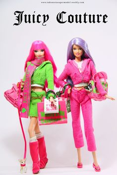 Juicy Couture Barbie Doll Restyle