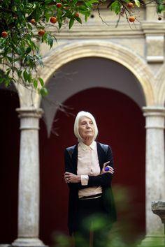 Valencia. La galerista, de 77 años, fotografiada en el Centro El Carmen.