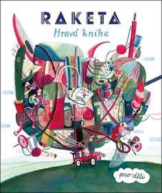 Raketa Hravá kniha pro děti Comic Books, Comics, Cover, Movie Posters, Film Poster, Cartoons, Cartoons, Comic, Comic Book