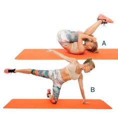 Tuck-and-Roll Kick: Try this total-body sculpting workout with celebrity trainer Tracy Anderson