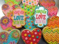 Cookies colors