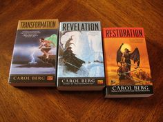 The Rai Kirah Series by Carol Berg - Hands down one of the best in the biz, this series is utterly transporting with it's unique peoples, strange society, and unfamiliar landscape.  This is everything you want from a fantasy story.  Book 2 seems to drag just a bit with what I felt was some unnecessary exposition ( a LOT) of it, but the series in it's entirety ranks right up there with the best.