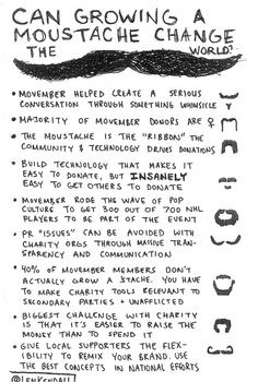 Movember - Why it's awesome