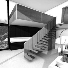 Unique COR-TEN steel stairs by www.designandweld.com
