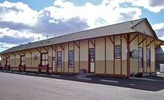 Train Station in Lebanon, Oregon