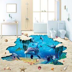 Personalizado revestimento de azulejos pisos de azulejos 3d 3d muitos design de 691m2 10 pés(China (Mainland))