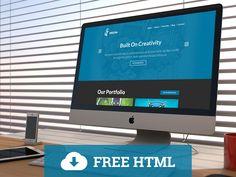Mocha Free Portofolio HTML Template