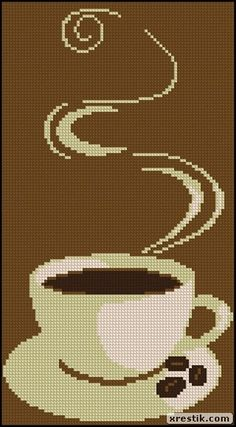 Coffee 65 monochrome scheme download beverages coffee food and drink embroidery