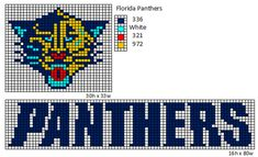Crochet Fanatic: NHL Logos and Name Plates