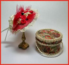 Feb Series I Hat Project - DOWNLOAD [feb1hat] : Cynthia Howe Miniatures!, Your premier source for Dollhouse Miniatures, Miniature Classes, Miniature Dolls and Molds, Kits and Free Tutorials.