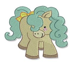 Embroidery | Free Machine Embroidery Designs | Bunnycup Embroidery | Pretty Ponies