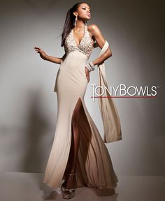 Tony Bowls Le Gala  »  Style No. 113542  »  Tony Bowls Prom 2013 available at Binns of Williamsburg