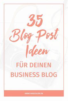 Gut geschriebene, hilfreiche, gerne auch kreative Blog-Posts sind die Basis für einen erfolgreichen Blog. Leider knutscht die Muse nicht jeden Tag mit gleichbleibender Leidenschaft.