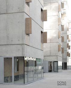 Concrete urban architecture