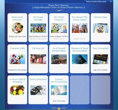 How to do your Disney Cruise Online Check-In - Magical Memory Planners