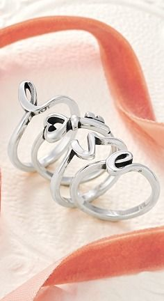 stack letters and symbols to create words straight from the heart jamesavery james avery