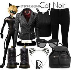 Disney Bound - Cat Noir (Miraculous Ladybug)