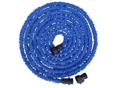 Expandable (Garden)hose, light-weighted, handy and easy to store! #expandablehose #gardenhose #expendablegardenhose #bluegardenhose #hose #garden #