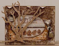 cool Halloweeen card- melissa francis
