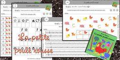 La classe de Laurène: Poule Rousse avec pdf pour imprimer