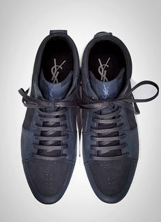 Brand Yves Saint Laurent hi top sneakers. _rama_
