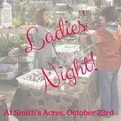 Ladies' Night!#smithsacresniantic #inspirationcenter #ladiesnight Ladies Night, Will Smith, Acre, Learning, Lady, Inspiration, Biblical Inspiration, Girl Night, Studying