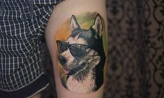 These Husky tattoos will make you want to get inked.