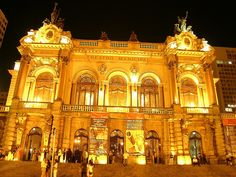 The famous City Theater in São Paulo, #Brazil