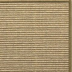 Sustainable Lifestyles Bone Sisal Rug with Serged Border (Color 29950)