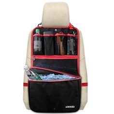 Aomaso Siège arrière de voiture Organizer Cooler Multi-Pocket Sac de rangement…