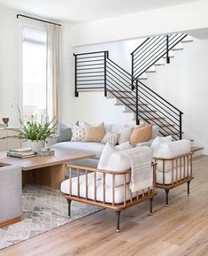 Beautiful Living Rooms, Living Room Modern, My Living Room, Living Room Designs, Living Room Decor, Living Spaces, Bedroom Decor, Transitional Living Rooms, Living Room On A Budget