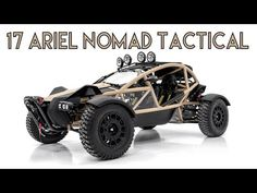 Halo Warthog, Ariel Nomad, Off Road Buggy, Sand Rail, Motorcycle Manufacturers, Cool Campers, Off Road Adventure, Roll Cage, Boat Design