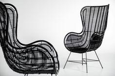 Zwarte Rieten Stoel : 14 beste afbeeldingen van rotan stoelen