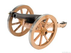 Traditions™ - Mini Napoleon III - Black Powder Cannon - Parts Kit Canon, Black Powder Guns, Hobby Kits, Knife Making, Miniatures, Military, Ebay, Lathe