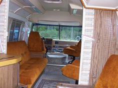 Original interior - 1978 Airstream Argosy 24
